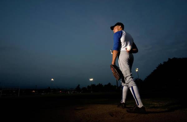 Uniform Photograph - Pitcher by Danielbendjy