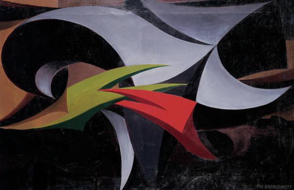 Painting - Pitfalls Of War, By Balla Giacomo by Mondadori Portfolio