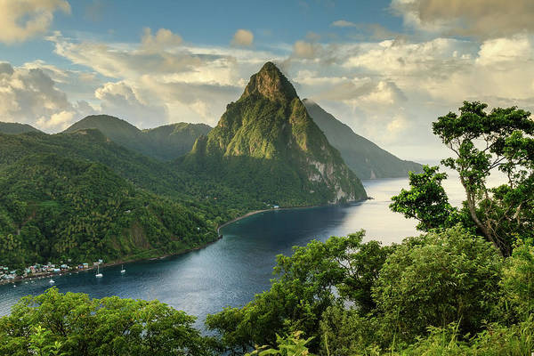 Nature Photograph - Piton View - Saint Lucia by Paul Baggaley
