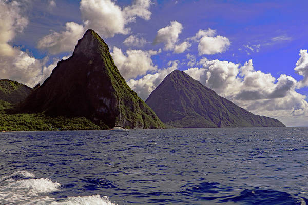 Photograph - Pitons by Tony Murtagh