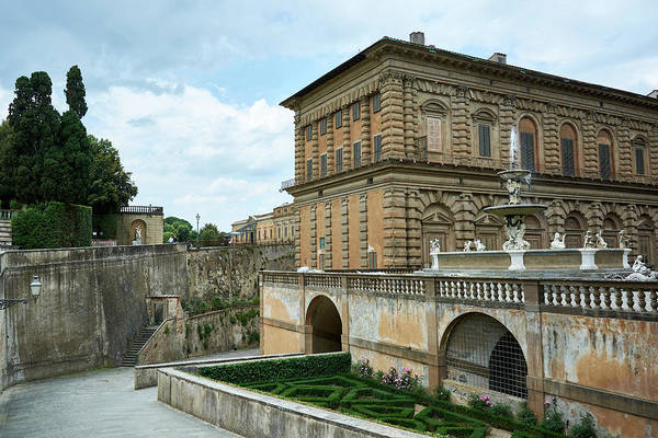 Photograph - Pitti Palace In Florence, Italy by Fine Art Photography Prints By Eduardo Accorinti