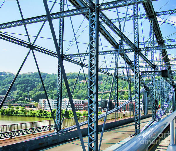 Photograph - Pittsburgh And One Of Its 445 Bridges by Roberta Byram