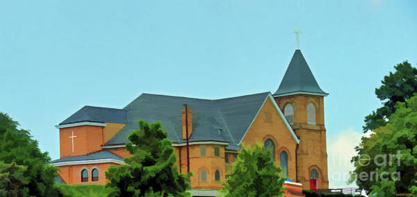 Photograph - Pittsburgh Area Church On A Hill by Roberta Byram