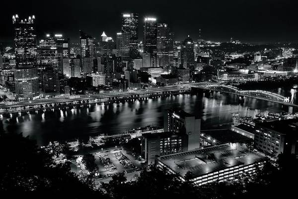 Pa Photograph - Pittsburgh Full City View by Frozen in Time Fine Art Photography