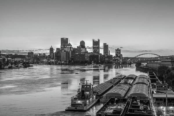 Neon Pink Photograph - Pittsburgh Industry by RJ Stein Photography