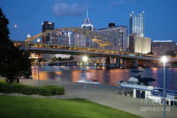 Wall Art - Photograph - Pittsburgh, Pennsylvania Waterfront by Bill Cobb