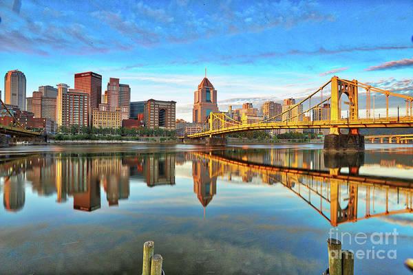 Wall Art - Photograph - Pittsburgh Reflections by Kelly Pennington
