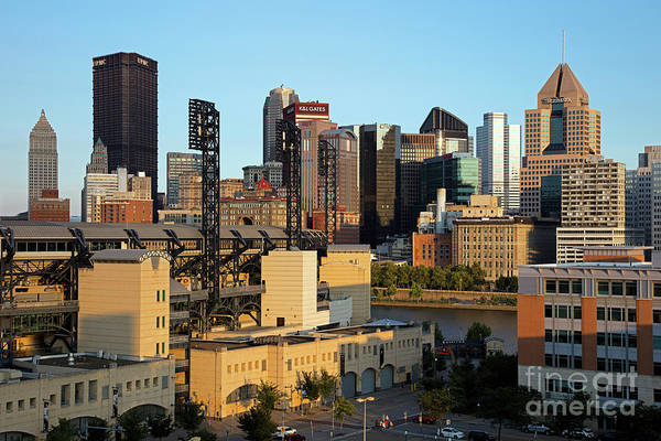 Wall Art - Photograph - Pittsburgh Skyline And Pnc Park by Bill Cobb