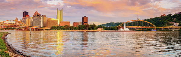 Wall Art - Photograph - Pittsburgh Skyline And Point State Park by Alexey Stiop