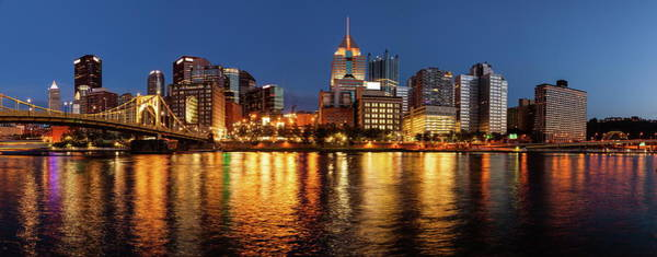 Wall Art - Photograph - Pittsburgh Skyline And The Allegheny River by Alexey Stiop