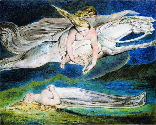 Greek Myths Wall Art - Painting - Pity - Digital Remastered Edition by William Blake
