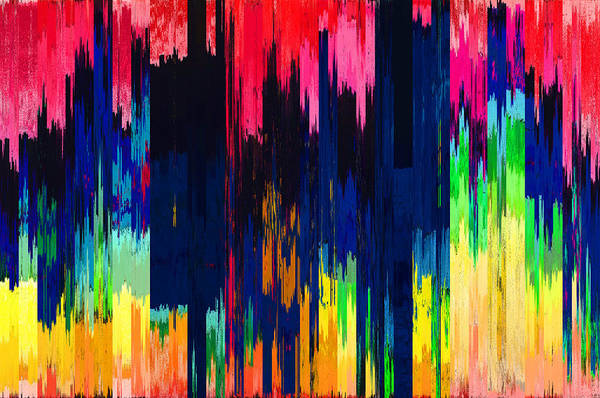 Wall Art - Digital Art - Pixel Sorting 106 by Chris Butler