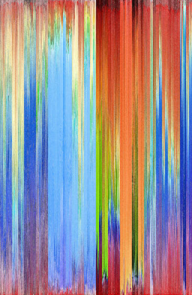 Wall Art - Digital Art - Pixel Sorting 120 by Chris Butler