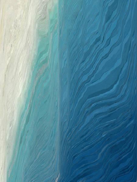 Aerial View Digital Art - Pixel Sorting 68 by Chris Butler