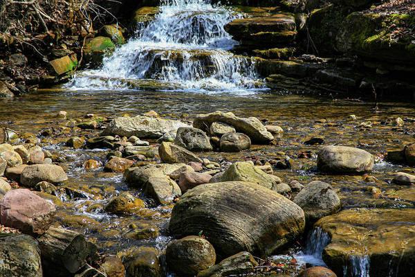 Photograph - Pixley Falls by John Bauer