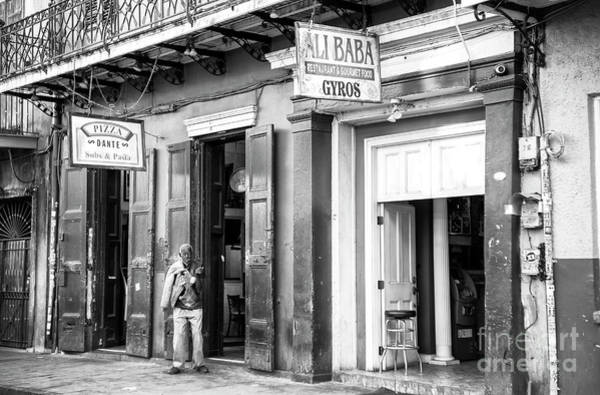 Photograph - Pizza Or Gyros In The French Quarter New Orleans by John Rizzuto