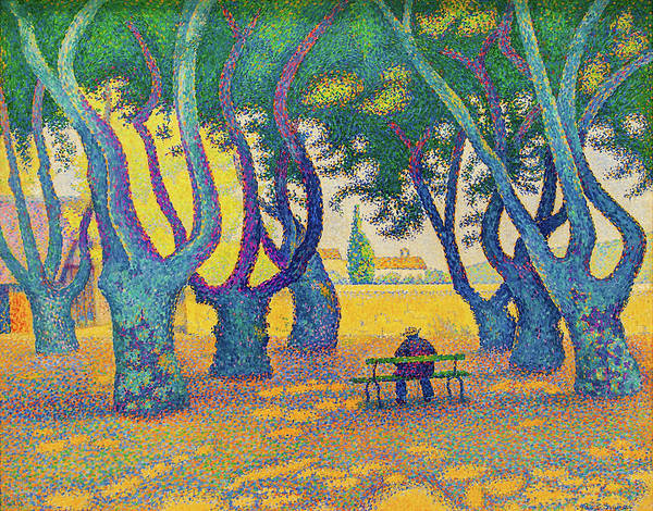 Wall Art - Painting - Place Des Lices, St. Tropez - Digital Remastered Edition by Paul Signac
