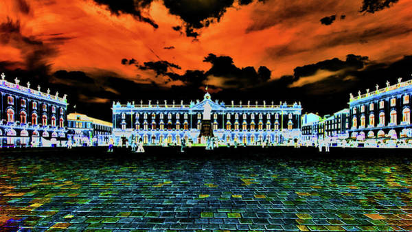 Photograph - Place Stanislas Night by Jorg Becker