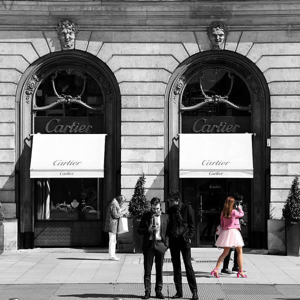 Photograph - Place Vendome Paris 2c by Andrew Fare