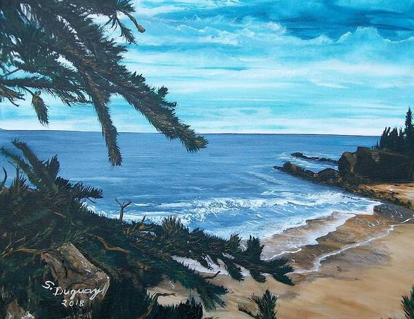 Painting - Plagu De Bourg De Pabos by Sharon Duguay