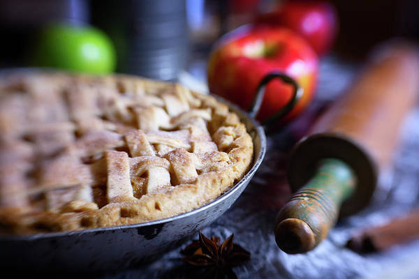 Wall Art - Photograph - Plain Old Apple Pie by Marnie Patchett
