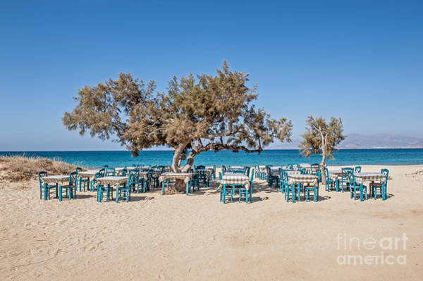 Wall Art - Photograph - Plaka Beach Naxos Island Greece by Christos Siatos