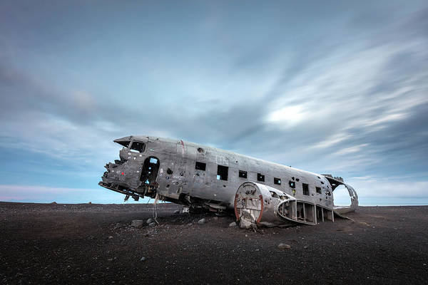 Photograph - Plane Wreck Of Solheimasandur Iceland by Pierre Leclerc Photography