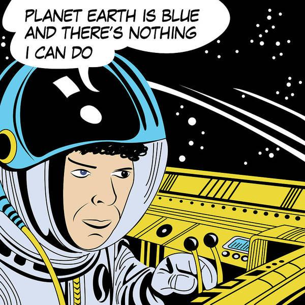 Wall Art - Digital Art - Planet Earth Is Blue by Long Shot
