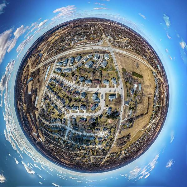 Photograph - Planet Waukesha by Randy Scherkenbach