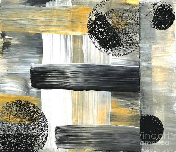 Painting - Planetary System Moon 01 by Angelika GAIGL