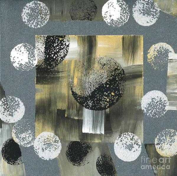 Painting - Planetary System Moon 03 by Angelika GAIGL