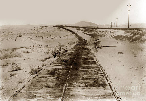Photograph - Plank Road In Imperial County, California,  by California Views Archives Mr Pat Hathaway Archives