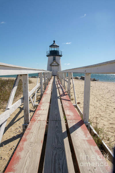 Photograph - Plank To Brant Light House  by Ruth H Curtis
