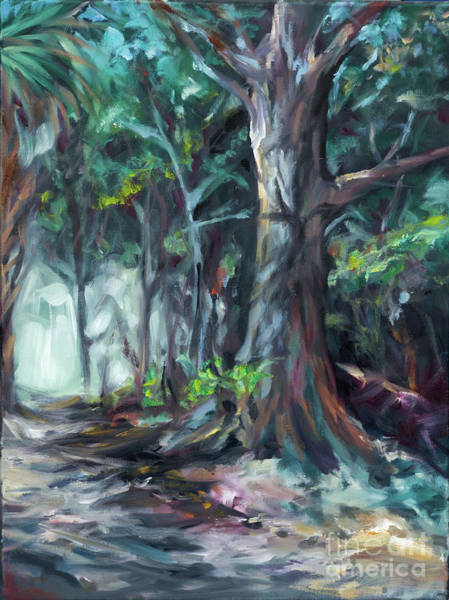Painting - Plantation Path by Linda Olsen