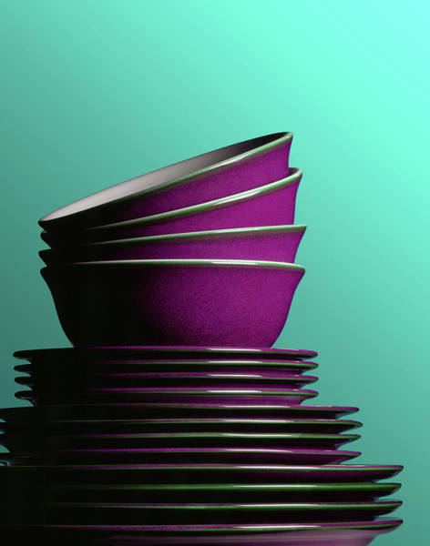 Photograph - Plates And Bowls by Terry Mccormick
