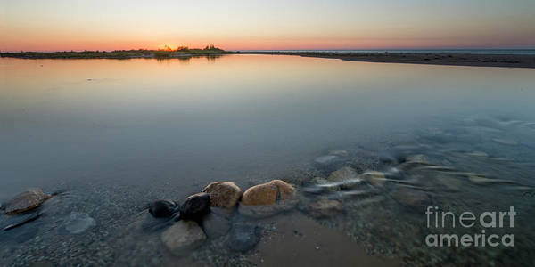 Wall Art - Photograph - Platte River Sunset 2x1 Panorama by Twenty Two North Photography