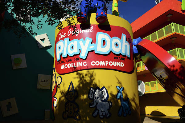 Wall Art - Photograph - Play Doh At Pop Century by David Lee Thompson