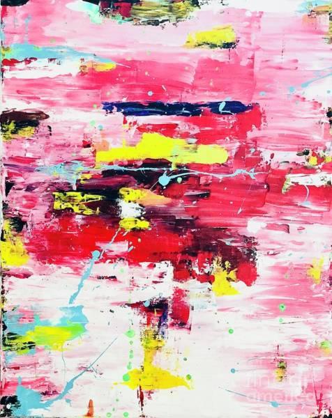 Wall Art - Painting - Play With Colors  by Anuradha Kumari