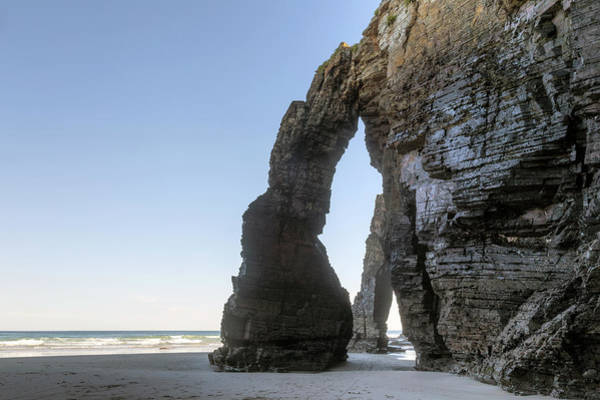 Galicia Photograph - Playa De Las Catedrales - Spain by Joana Kruse