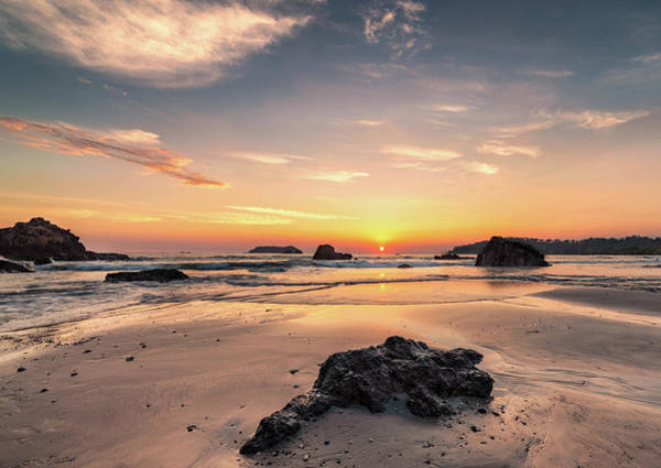 Photograph - Playa Espadilla Sunset by Darylann Leonard Photography