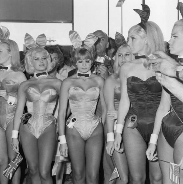 Hugh Hefner Photograph - Playboy Bunnies by Dove