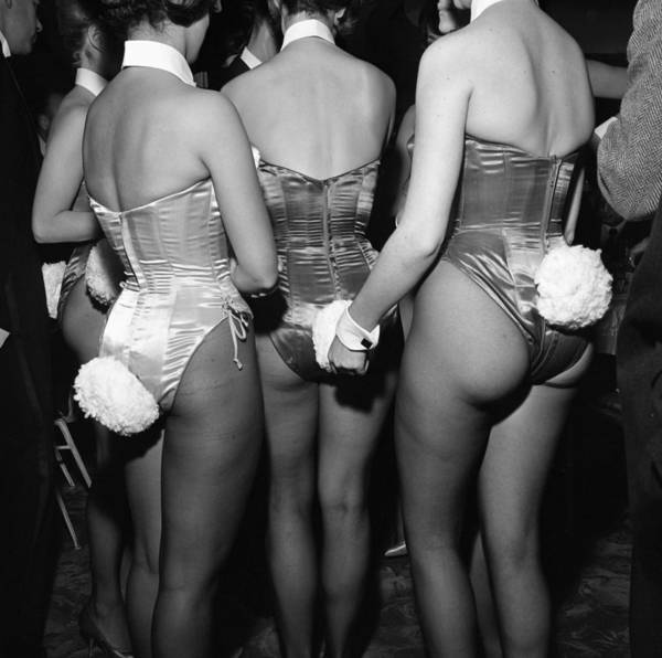 Topix Photograph - Playboy Club Party In Ny by Donaldson Collection