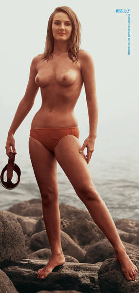 Playboy, Miss July 1967 Art Print