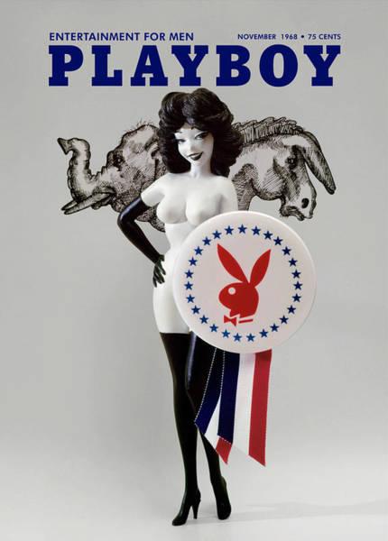 Playboy, November 1968 Art Print