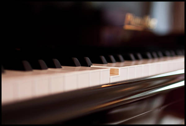 Piano Photograph - Player Piano by Ingo Tews