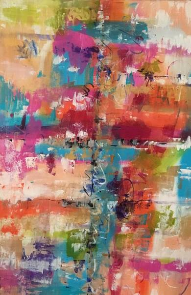 Painting - Playful Colors by Crystal Stagg