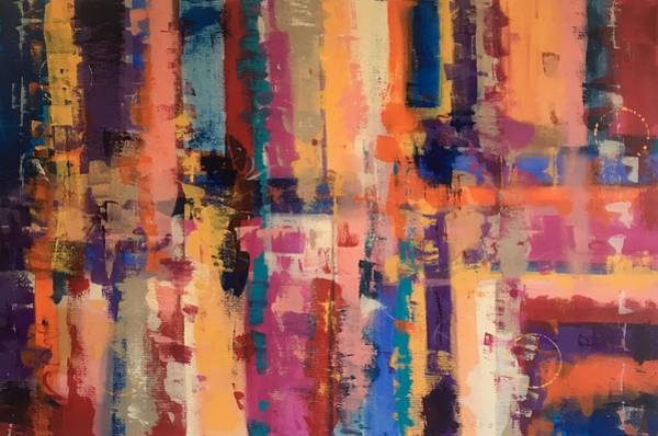 Painting - Playful Colors Iv by Crystal Stagg