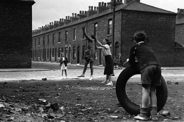 English Culture Photograph - Playing In The Street by John Chillingworth