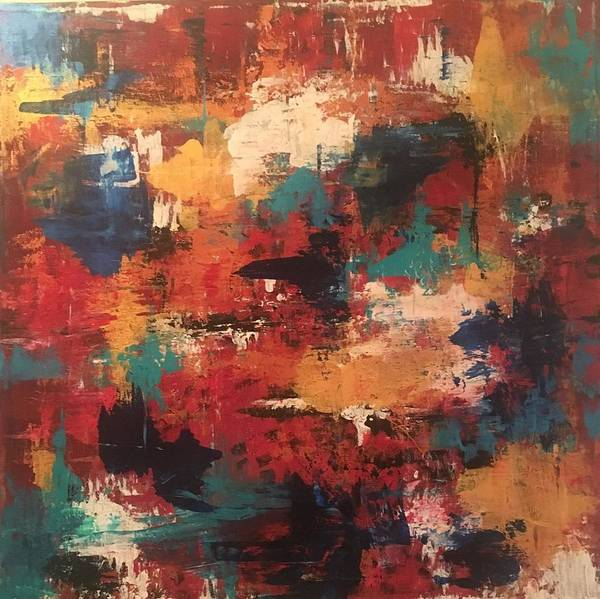 Painting - Playing With Color by Crystal Stagg