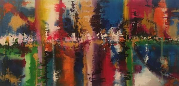 Painting - Playing With Color II by Crystal Stagg